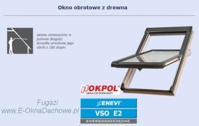 Okno dachowe OKPOL Enevi VSO E2 78x118