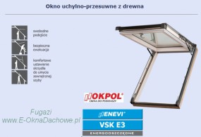 Okno dachowe OKPOL Enevi VSK E3 78x118
