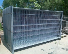 Panel ogrodzeniowy 350x200cm drut 3,0x2,0 mm ocynk LIGHT PROMO
