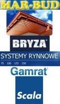sprzedaż rynien śląskie rynny pcv , ocynk , tytan cynk Bryza Gamrat Scala Plastics