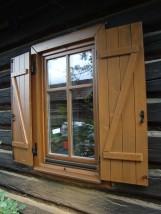 Okna Natura z okiennicami ZET