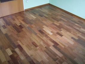 Podłoga z drewna egzotycznego TALI