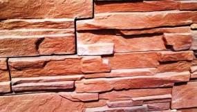 Płytki Mineralne wzór Ala  Piaskowiec Płomienny