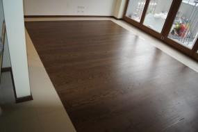 Podłoga drewniania - Jesion kawa