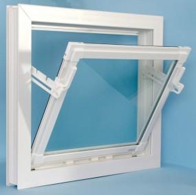 Okna inwentarskie PCV