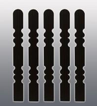 Sztachety plastikowe  - imitacja drewnianych