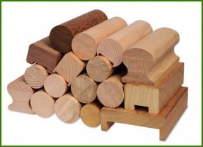 Balustrady i poręcze drewniane buk, dąb, sona, merbau