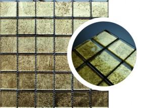 Mozaika szklana FOIL ORNAM GOLD