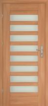 Drzwi panelowe ANTILA dodatkowo można dokupić ościeżnicę regulowaną oraz klamki