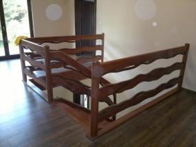Poręcze drewniane Myślibó
