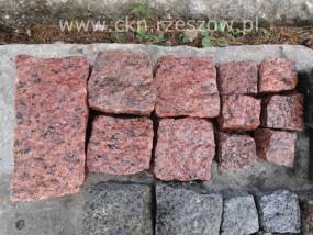 Kostka granitowa czerwona