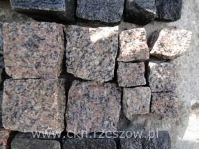 Kostka granitowa multikolor