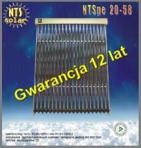 Kolektor słoneczny NTS pe 20-58