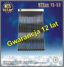 Kolektor słoneczny NTS pe 15-58
