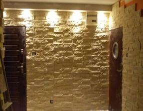 Kamien na sciane wzór Małgosia