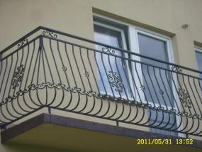 Balustrada balkonowa 1