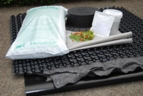 Pakiet na dach ekstensywny - z mieszanką siewną Sprzedaż - [m2]