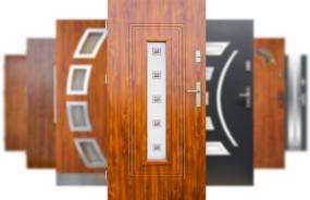 Drzwi zewnętrzne stalowe