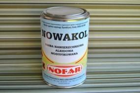 Farba nawierzchniowa alkidowa modyfikowana NOWAKOL