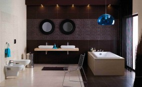 Zebrano- płytki łazienkowe, płytki