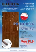 Drzwi zewnętrzne TYTAN