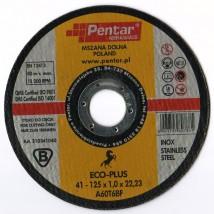 tarcza do cięcia stali inox Eco-Plus 125x1,0x22,23