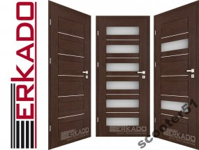 Drzwi wewnętrzne Erkado FLOKS Floks dodatkowo można dokupić ościeżnicę regulowaną oraz klamki