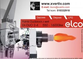 Palniki Przemysłowe Olejowe DuoBlock EK-DUO 2-3-4 Moc 550 - 16000kw