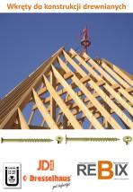 Wkręt do konstrukcji drewnianych