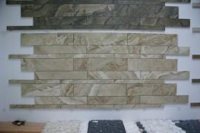 gres - płytki kamieniopodobne Mur kuchenne, elewacyjne,