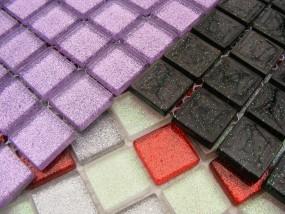 Mozaika szklana kolekcja Dust
