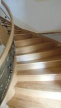 Schody drewniane śląskie spiralne