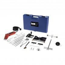 Nóż do cięcia styropianu + bogaty zestaw akcesoriów MP6283