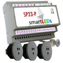 Sterownik oświetlenia LED schodów z półpiętrem+3 czujniki optyczne SP23 PREMIUM