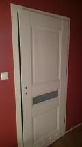 Drzwi łazienkowe tuleje lub podcięcie wentylacyjne