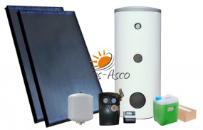 Zestaw solarny z 2 kolektorami GAK2.0 AquaDuo GAK 4,04m2