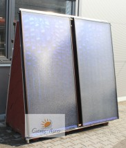 Płaski kolektor słoneczny 2,5 m2 G5 sprawność 86%