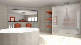Carrara - płytki łazienkowe, płytki