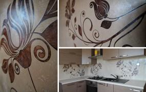 Freski na ścianie