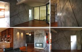Tynki dekoracyjne - Beton efekt