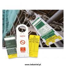 Kontrolka przeglądu rusztowania ScaffTag - uchwyt i wymienne wkładki