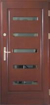 Drzwi zewnętrzne drewniane 72mm wzór nr. 16