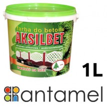 AKSILBET 1L - farba do betonu, posadzek, elewacji