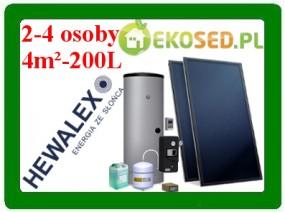Zestaw Kolektorów Słonecznych 2KS2100-TAC-200 ECO