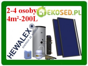 Zestaw solarny 2 TLPAm-200
