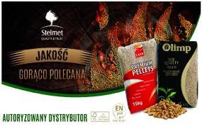 Pellet Pellety Pelet STELMET LAVA & Olimp 6 mm - Śląsk