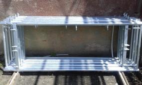 Rusztowanie Rusztowania elewacyjne, ramowe PLETTAC 75 m2