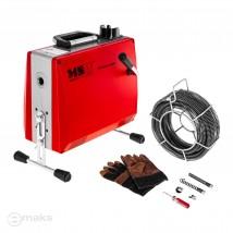 Żmijka elektryczna przepychacz do rur 14,7m + akcesoria MP6351