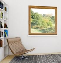Okna PVC, aluminium, drewno.