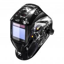 Profesjonalna maska spawalnicza automatyczna przyłbica duży wizjer MP2989